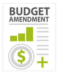 Budget Amendment