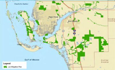 Lee County Mitigation Plan Map Image